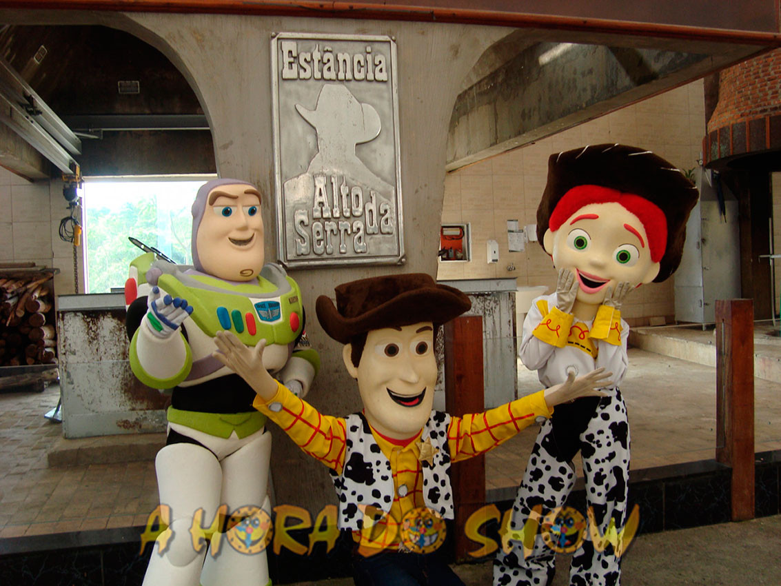 Toy Story Personagens Vivos